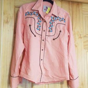 Beautiful genuine western blouse, medium